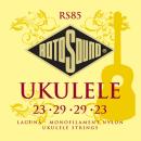 Rotosound RS85 - 4 struny ukulele [23-23] nylonowe