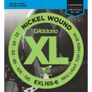 D'Addario EXL165-6 32-135 - struny do gitary basowej 6-str