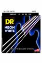 DR NWB 45-105 NEON WHITE BASS struny powlekane do gitary basowej