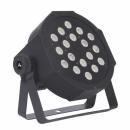 Sagitter projektor LED typu slimpar 18 x 1 W LED RGB IRC