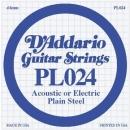D'Addario PL024 struna .024
