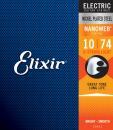 Elixir struny do gitary elektrycznej NANOWEB 10-74 8-str