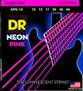 DR struny do gitary elektrycznej NEON PINK 10-46