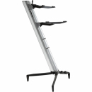 STAY Keyboard Stand TOWER 130cm 2 poziomy Silver statyw pod keyboard