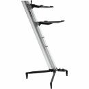 STAY Keyboard Stand TOWER 130cm 2 poziomy Silver statyw pod keyboard