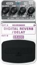 Behringer DR400 Digital Reverb / Delay  - efekt gitarowy