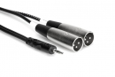 Hosa - Kabel Breakout TRS 3.5mm - 2 x XLRm, 2m