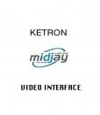 Ketron - video interfejs dla Midjay