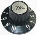 Pokrętło do potencjometru Tone czarne