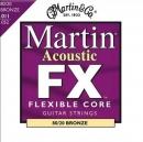 Martin MFX-675 Bronze 11-52 - struny do gitary akustycznej