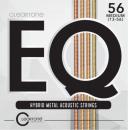 Cleartone struny do gitary akustycznej EQ Hybrid Metal 13-56