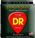 DR DSA 13-56 DRAGON SKIN struny powlekane do gitary akustycznej