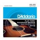 D'Addario EFT16 12-53 - struny do gitary akustycznej