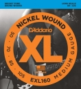 D'Addario EXL160 50-105 - struny do gitary basowej