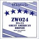 D'Addario ZW024 struna pojedyncza G3