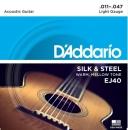 D'addario EJ40 11-47 - struny do gitary akustycznej