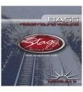 Stagg BA 4525 S5 - struny do gitary basowej, pięciostrunowej
