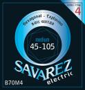 SAVAREZ SA B70 M4 komplet strun do basu elektrycznego