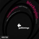 STRUNY BASS BLACK NYLON G-775 055-130