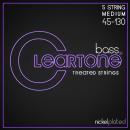 Cleartone struny do gitary basowej niklowane 45-130 5-str