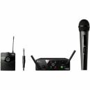 AKG WMS-40 MINI 2 DUAL Vocal / Instrument Set US45A/C (660.700-662.300) - system bezprzewodowy