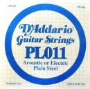 D'Addario PL011 struna .011