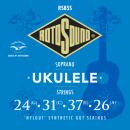 Rotosound RS85S - 4 struny ukulele [24-26] nylgut