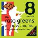 Rotosound R8 Extra Light [8-38] niklowane struny do gitary elektrycznej