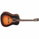 Vintage Gitara elektroakustyczna VE660 VINTAGE BURST