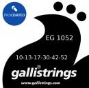 Galli EG1052 Custom Nickel Coated - struny powlekane do gitary elektrycznej