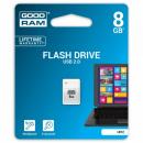 Pendrive Goodram UPI20080W0R11 Piccolo USB 2.0 8GB biały