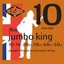 Rotosound JK10 [10-50] brąz fosforowy struny do gitary akustycznej