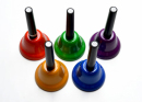 Bum Bum Dzwonki z rączką zestaw chromatyczny