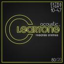 Cleartone struny do gitary akustycznej 80/20 Bronze 10-47