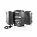 JBL EON 208P zastaw kolumn głośnikowych z powermikserem 300W