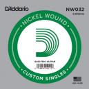 D'Addario NW032 struna 032 w owijce nickel