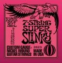 Ernie Ball Slinky EB2623 9-52 - struny do gitary elektrycznej 7-str