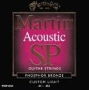 Martin MSP-4050 Phosphor Bronze 11-52 - struny do gitary akustycznej