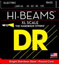 DR struny do gitary basowej HI-BEAM stalowe 45-105 X-LONG