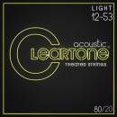 Cleartone struny do gitary akustycznej 80/20 Bronze 12-53