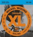 D'Addario EXL140 10-52 - struny do gitary elektrycznej