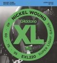D'Addario EXL220 - struny do gitary basowej