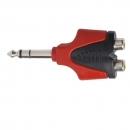 Proel AT250PRO - adapter audio -Jack stereo 6,3 mm męski / 2 x RCA żeński.