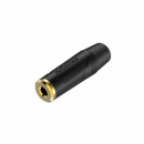 Roxtone Gniazdo Jack 3,5mm na kabel RMJ3FP-BG