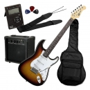 Soundsation EGPKG600 3TS Pack - gitara elektryczna plus zestaw akcesoriów