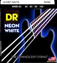 DR struny do gitary basowej NEON WHITE 45-105