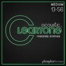 Cleartone struny do gitary akustycznej Phosphor Bronze 13-56