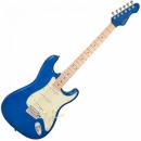 Vintage Gitara elektryczna V6 JOHN VERITY CANDY APPLE BLUE