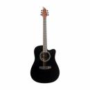FLYCAT C200 BK Gitara Akustyczna