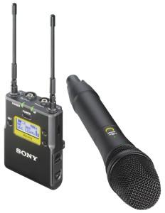 SONY UWP-D12/K33 - System bezprzewodowy UHF Hybrid